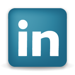 LinkedIn Icon - Letters i and n